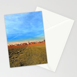Horizon, clouds, sky and sunset | landscape photography Stationery Cards