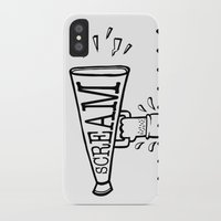 scream iPhone & iPod Cases featuring SCREAM by Andrea Vietti