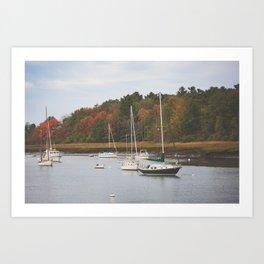 Kennebunkport Maine II Art Print