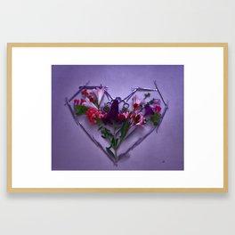 Dental Tool Efflorescence Framed Art Print