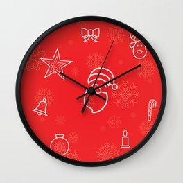 Christmas Vibes Wall Clock