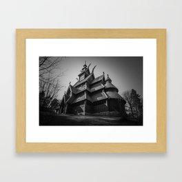 Gol Stavkirke I Framed Art Print