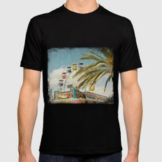Carnival South MEDIUM Black Mens Fitted Tee