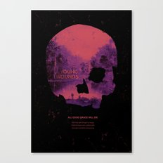 Young Wounds Canvas Print