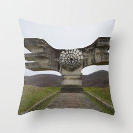Staute Throw Pillow