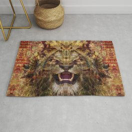 Hell's Lion Rug