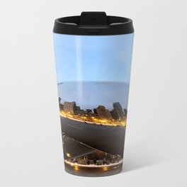 City on Fire  Metal Travel Mug