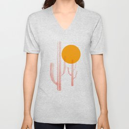 Red Hot Chili Cactus Unisex V-Neck