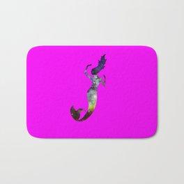 Galaxy Mermaid 2 (Pink) Bath Mat