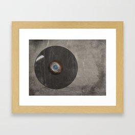 Lost Music ( VACANCY zine ) Framed Art Print