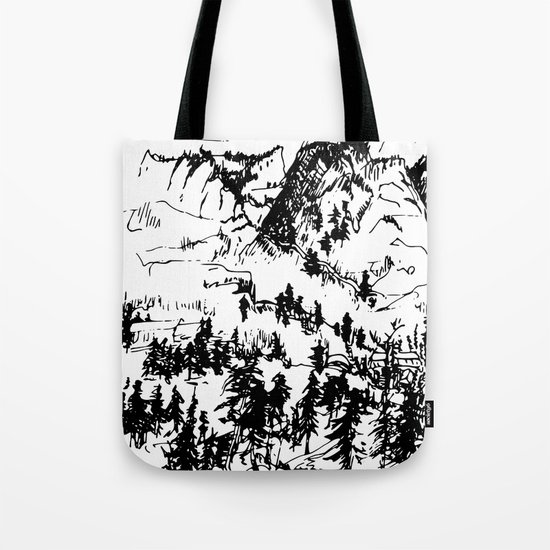 This is where it happened last autumn Tote Bag