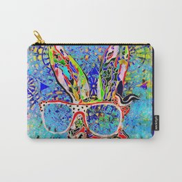 Unruly Hare Carry-All Pouch