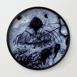 Sea Otter Wall Clock