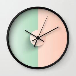 Green Apple Cinderella Wall Clock