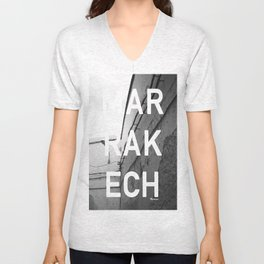 Look at this wall Unisex V-Neck