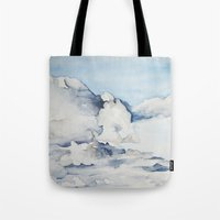 eagle Tote Bags featuring Eagle by Tara de la Garza
