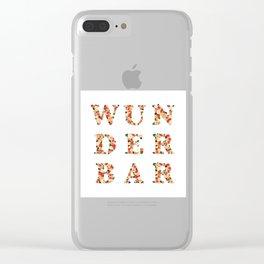 wunderbar - wonderful - east - Living Hell Clear iPhone Case