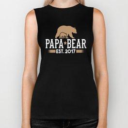 Papa Bear Est_ 2017 Biker Tank