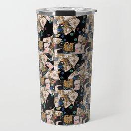 Klimt woman Travel Mug