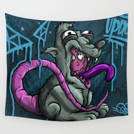 Ronnie The Rat 1 Royal Stain Wall Tapestry