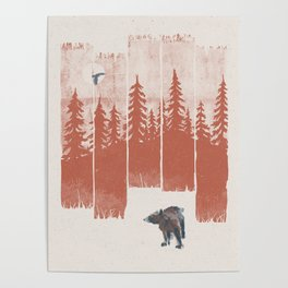 A Bear in the Wild... Poster