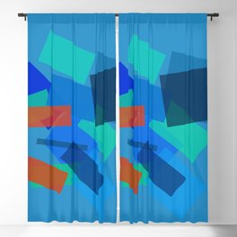 Retracting in Motion Blackout Curtain