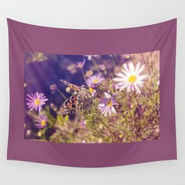 Painted Lady Wall Tapestry