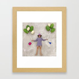 Lifting Up Framed Art Print