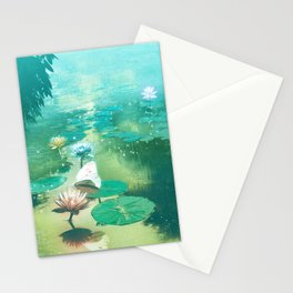 A River of Living Water Stationery Cards