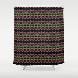 Ethnic ornament 25 Shower Curtain