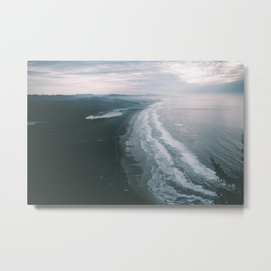Oregon Coast VI Metal Print