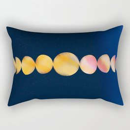 Moon Phase Art Rectangular Pillow