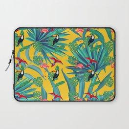 tropical yellow Laptop Sleeve