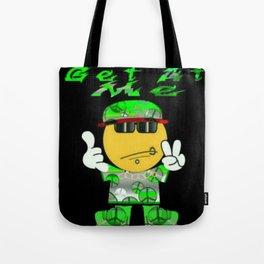Get At Me Tote Bag