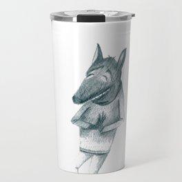 Menos lobos caperucita Travel Mug