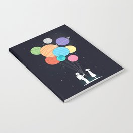 You are my universe (black) Notebook