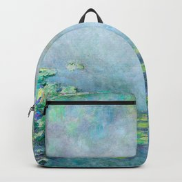 Monet Water Lilies / Nymphéas 1906 Backpack