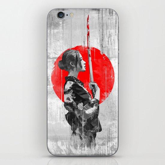 Samurai Girl iPhone & iPod Skin