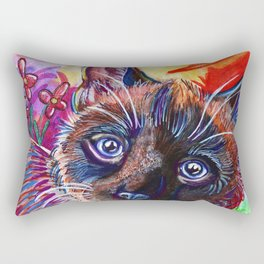 Technicolor Rectangular Pillow