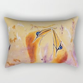 Crazy Tenderness | Fou de Tendresse Rectangular Pillow