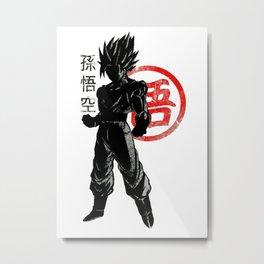 GOKU Metal Print
