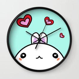 Love Little Bunny Ronnie Wall Clock