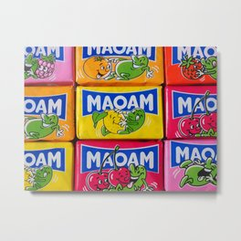 MAOAM candy Metal Print