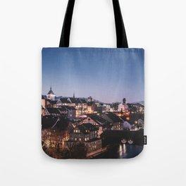 sleepy town Tote Bag