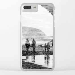 Martians Clear iPhone Case
