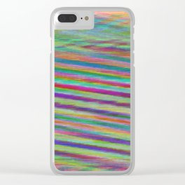 Sunnyside Suns & Sounds Clear iPhone Case