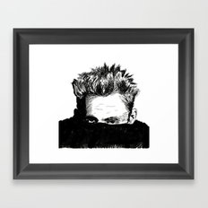 Rebel Framed Art Print