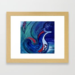Burst Forth Framed Art Print