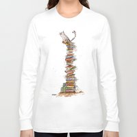 bad idea Long Sleeve T-shirts featuring This was a bad idea  by Fearillustration