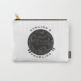 Howling and Prowling Carry-All Pouch